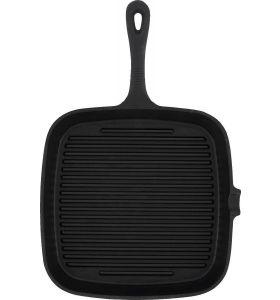 Daumonet Gietijzeren Grillpan - 23,5 cm - Zwart