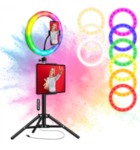 Zindoo LED-ringlamp