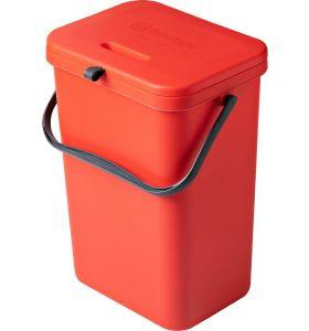 Homra Wall-Up inbouw prullenbak - 12L - Rood