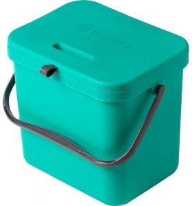 Homra Wall-Up inbouw prullenbak - 8L - Groen