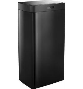 Stangvollby Kinna prullenbak met sensor - 50L - Zwart