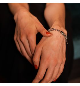 Laura Ferini armband Presa - Zilverkleurig