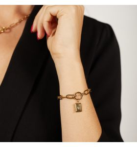 Laura Ferini armband Ruvido - Goudkleurig