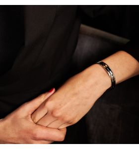 Laura Ferini armband Strati - Zilverkleurig