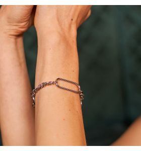 Laura Ferini armband Solo Tua - Zilverkleurig