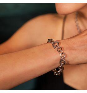 Laura Ferini armband Donna Forte - Zilverkleurig
