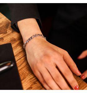Laura Ferini armband Allora - Zilverkleurig