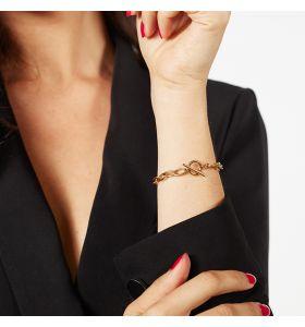 Laura Ferini armband Baciare - Goudkleurig