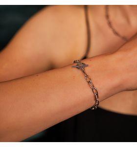 Laura Ferini armband Baciare - Zilverkleurig