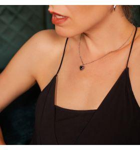 Laura Ferini ketting Amore - Zilverkleurig