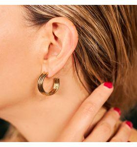 Laura Ferini oorbellen Carino - Goudkleurig