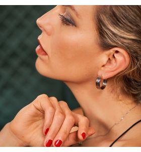 Laura Ferini oorbellen Carino - Zilverkleurig