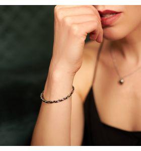Laura Ferini armband Donella - Zilverkleurig