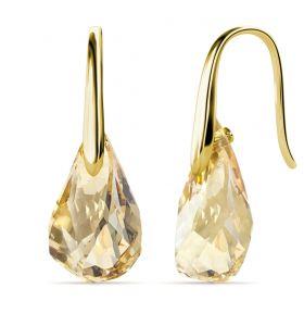 Yolora oorbellen met Kalpa Camaka kristal - Goudkleurig