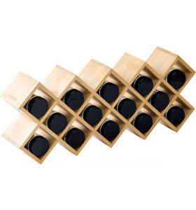 Zindoo Kruidenrek - inclusief 14 potjes - FSC Bamboe